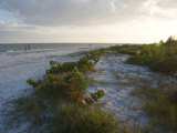 Sunset on Beach, Sanibel Island, Gulf Coast, Florida, United States of America, North America Photographic Print by Robert Harding