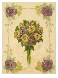 Roses And Hydrangeas Posters by Shari White