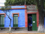Frida Kahlo Museum, Coyoacan, Mexico City, Mexico, North America Photographic Print by Wendy Connett