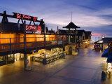 Restaurant on Pier, Redondo Beach, California, United States of America, North America Photographic Print by Richard Cummins