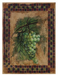 Grape Mosaic II Giclee Print by Merri Pattinian