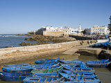 Port with Fishing Boats, Essaouira, Morocco, North Africa, Africa Photographic Print by Nico Tondini