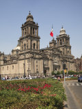 Metropolitan Cathedral, Zocalo, Mexico City, Mexico, North America Photographic Print by Wendy Connett