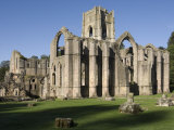 Fountains Abbey, UNESCO World Heritage Site, Near Ripon, North Yorkshire, England, United Kingdom,  Photographic Print by James Emmerson