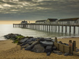 Southwold Pier in the Early Morning, Southwold, Suffolk, England, United Kingdom, Europe Photographic Print by Neale Clark