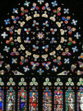 Rose Window in Notre-Dame-Des-Carmes Church, Pont-L'Abbe, Pont-L'Abbe, Finistere, France, Europe Photographic Print by  Godong