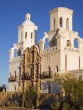 Mission San Xavier Del Bac, Tucson, Arizona, United States of America, North America Photographic Print by Richard Cummins