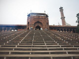 Jama Masjid, Delhi, India, Asia Photographic Print by James Gritz