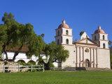 Old Mission Santa Barbara, Santa Barbara, California, United States of America, North America Photographic Print by Richard Cummins