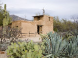 Adobe Mission, De Grazia Gallery in Sun, Tucson, Arizona, United States of America, North America Photographic Print by Richard Cummins