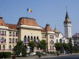 Trandafirilor Square, Targu Mures, Transylvania, Romania, Europe Photographic Print by Marco Cristofori
