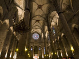 Catalan Gothic Church of Santa Maria Del Mar, Barcelona, Catalonia, Spain, Europe Photographic Print by Carlo Morucchio