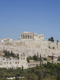 Parthenon Temple and Acropolis, UNESCO World Heritage Site, Athens, Greece, Europe Photographic Print by Angelo Cavalli