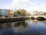 Liffey River, Dublin, Republic of Ireland, Europe Photographic Print by Oliviero Olivieri