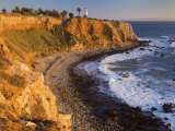 Point Vincente Lighthouse, Palos Verdes Peninsula, Los Angeles, California Photographic Print by Richard Cummins