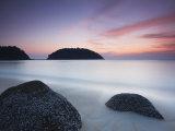 Teluk Nipah Beach at Sunset, Pulau Pangkor, Malaysia, Southeast Asia, Asia Photographic Print by Ian Trower