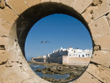 View of Ramparts of Old City, UNESCO World Heritage Site, Essaouira, Morocco, North Africa, Africa Photographic Print by Nico Tondini