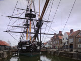 HMS Trincomalee, British Frigate of 1817, at Hartlepool's Maritime Experience, Cleveland, England Photographic Print by Nick Servian