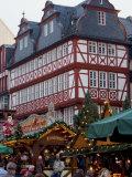 Weihnachtsmarkt (Christmas Market), Frankfurt, Hesse, Germany, Europe Photographic Print by Ethel Davies