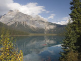 Emerald Lake, Yoho National Park, Rocky Mountains, British Columbia, Canada Photographic Print by Tony Waltham