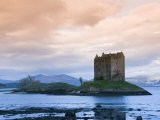 Castle Stalker, Near Port Appin, Argyll, Highlands, Scotland, United Kingdom, Europe Photographic Print by Richard Maschmeyer