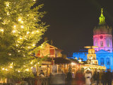 Schloss-Garten at Christmas Time, Charlotteburg, Berlin, Germany, Europe Photographic Print by Marco Cristofori