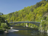 Telford Iron Bridge, Built in 1815, across the River Spey, Scotland, United Kingdom, Europe Photographic Print by Richard Maschmeyer