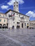 Piazza Del Popolo, Ascoli Piceno, Marche, Italy, Europe Photographic Print by Vincenzo Lombardo