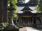 Hiyoshi Shinto Shrine in Echizen-Ono Town, Fukui Prefecture, Japan Photographic Print