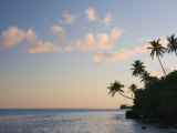 Sunset, Maupiti Lagoon, Maupiti, French Polynesia, South Pacific Ocean, Pacific Photographic Print by Jochen Schlenker