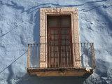 Window, Colonial Architecture, Guanajuato, Guanajuato State, Mexico, North America Photographic Print by Wendy Connett