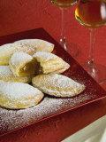 Panzerotti Alla Marmellata (Jam Panzerotti), Italian Carnival Cakes, Valle D'Aosta, Italy, Europe Photographic Print by Nico Tondini