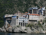 Monastery on Mount Athos, Mount Athos, UNESCO World Heritage Site, Greece, Europe Photographic Print by  Godong