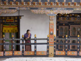 Lhuentse Dzong, Bhutan, Asia Photographic Print by James Gritz