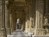 Jain Temple, Satrunjaya, Gujarat, India Photographic Print by Balan Madhavan