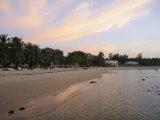 Sunset at Saly, Senegal, West Africa, Africa Fotografisk tryk af Robert Harding