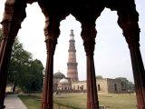 Qutab Minar, UNESCO World Heritage Site, Delhi, India Photographic Print by Balan Madhavan