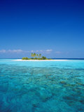 Deserted Island, Maldives, Indian Ocean Photographic Print by Sakis Papadopoulos