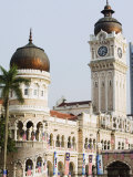 Sultan Abdul Samad Building, Merdeka Square, Kuala Lumpur, Malaysia, Southeast Asia, Asia Photographic Print by Christian Kober