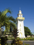 Town Clock, Apia, Upolu Island, Western Samoa, South Pacific, Pacific Photographic Print by Michael DeFreitas