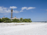 Sanibel Lighthouse, Sanibel Island, Gulf Coast, Florida, United States of America, North America Photographic Print by Robert Harding
