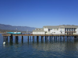 Sea Center on Stearns Wharf, Santa Barbara Harbor, California, United States of America Photographic Print by Richard Cummins