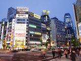 Night Lights in Shinjuku, Tokyo, Japan, Asia Photographic Print by Christian Kober