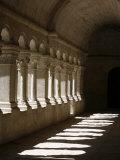 Notre-Dame De Senanque Abbey Cloister, Gordes, Vaucluse, France, Europe Photographic Print by  Godong