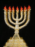 Menorah, Paris, France, Europe Photographic Print by  Godong