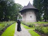 Humor Monastery, UNESCO World Heritage Site, Gura Humorului, Bucovina, Romania, Europe Photographic Print by Marco Cristofori