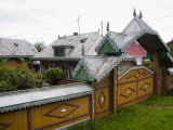 Traditional House, Sat Baiesti, Cornu Luncii, Bucovina, Romania, Europe Photographic Print by Marco Cristofori