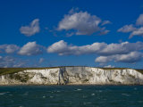 White Cliffs of Dover, Dover, Kent, England, United Kingdom, Europe Photographic Print by Charles Bowman