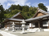 Zen Buddhist Temple of Zenpo-Ji, Tsuruoka, Yamagata-Ken, Northwestern Honshu, Japan Photographic Print by Tony Waltham