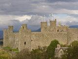 Harlech Castle, UNESCO World Heritage Site, Gwynedd, Wales, United Kingdom, Europe Photographic Print by John Woodworth